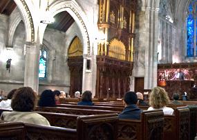 photo of church-congregation