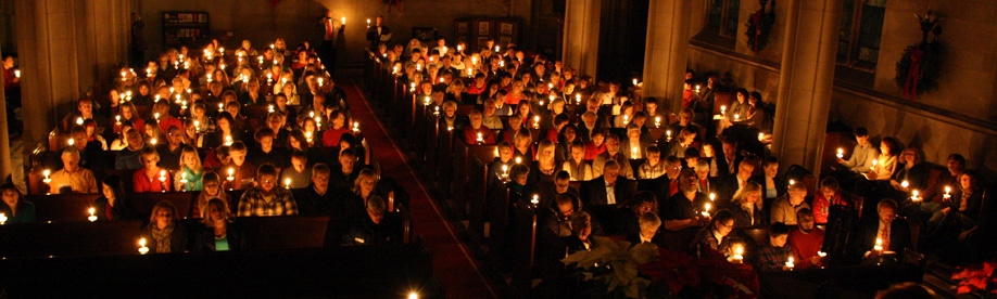 photo of Night Candlelight Service